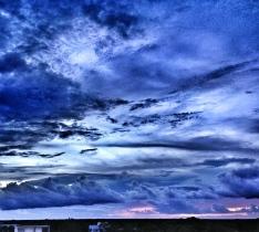 tras la tormenta, descanso y color.