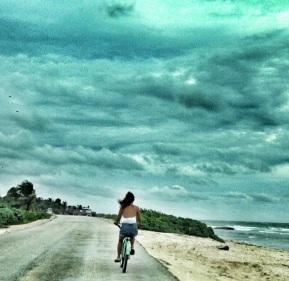 a la playa... o al trabajo