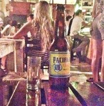 rubia, tequila y chela
